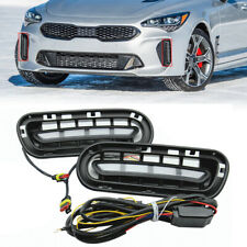 12V LED Car Turn Signal Indicator DRL Daytime Running Light Fit For Kia Stinger