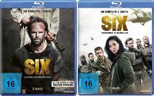 4 Blu-rays * SIX - DIE KOMPLETTE STAFFEL 1+2 IM SET # NEU OVP $