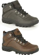 DEK DERWENT Mens Genuine Smooth Leather Lace-Up Outdoor Ankle Hiking Boots