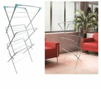 3 TIER CLOTHES AIRER LAUNDRY DRYER CONCERTINA INDOOR OUTDOOR PATIO HORSE RACK16M