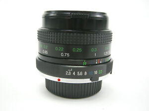 Vivitar 28mm f/2.8 MC Lens For Minolta MD