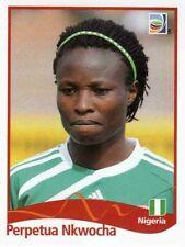 Panini FIFA World Cup 2011 Germany Women Sticker #72 Perpetua Nkwocha Nigeria