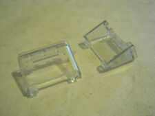 "Lego Lot of 2 ea. Clear Windscreen or Canpty, 3/4"" x 1 1/4""  (GS28-15)"
