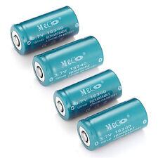 4Pcs CR123A 16340 3.6V 3.7V 1200mAh Rechargeable Battery For Flashlight