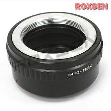 M42 screw Zenit Zeiss Lens to Sony E mount adapter NEX-7 5T 6 A7 A7R A6300 A5100