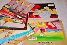 BIG BANG  ! picha  jeu 12 photos cinema lobby card  bd animation