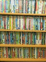 Children's Lot of 50 Kids DVDs ~ Movies  TV Shows ~ Girl Boy Mix