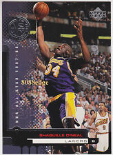 "1998-99 UPPER DECK TO THE NET SHORT PRINT: SHAQUILLE""SHAQ"" O'NEAL #164 SUBSET SP"