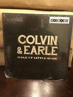 """Steve Earle & Shawn Colvin Rare Record Store Day 7"""" Vinyl Wake Up Little Susie"""