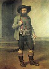 Andreas Hofer II. Tirol von Franz Defregger Faksimile K&K 7 auf Büttenpapier