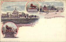 Philadelphia PA Patriographic Pioneer Souvenir Card Multi View #12 1890s
