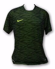 Nike Dri-Fit Camouflage Green Color Men's Short Sleeve Jersey Size X-Large