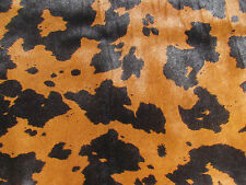 "Gorgeous Hair-on Edelman Leather ""CAVALLINI"" in Black/Brown 27.5 SQ FT"