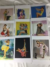 16 Beautiful Pin Up Girl Frameable prints Taschen Artists Ekman Elvgren 2013