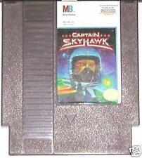 NES NINTENDO  ENTERTAINMENT SYSTEM GAME CAPTAIN SKYHAWK MILTON BRADLEY
