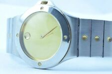 MOVADO MUSEUM DAMEN WATCH UHR RAR STAHL TOP QUARTZ 26MM