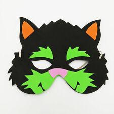 Cat Zoo Farm Animal Jungle Safari Foam Mask Costume Fancy Dress New