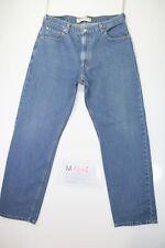 Levis 505 Regular Fit (Cod. M1641) tg50 W36 L32 jeans usato Vita Alta Vintage