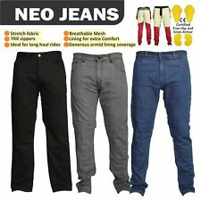 NEO MOTORBIKE JEANS MADE WITH DuPont™ Kevlar® MOTORCYCLE PANTS FREE ARMOUR