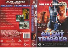 Vhs *SILENT TRIGGER* 1996 Australian Holywood Pictures Action Adventure Thriller