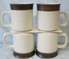 Denby Brown Russet Mug Set of 4