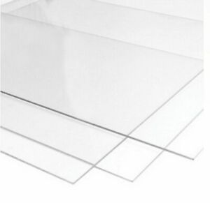 Perspex Glass Styrene Clear Transparent Acrylic Sheet Plastic Sheet Many Sizes