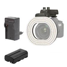 NANGUANG LED-Videoleuchte SET: CN-R160 Kopflicht + Akku 2000 mAh + Ladegerät