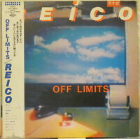 REICO Off Limits LP Japanese Rock/Pop w/ Obi and 4-Page Insert