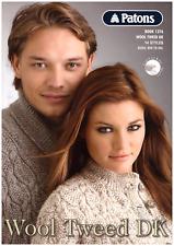 Wool Tweed DK - 8ply Knitting Patterns - Patons Wool Tweed - Cleckheaton Country