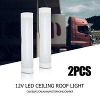 2x DC24V LED Interior Strip Lights Bar Caravan Camper Motorhome Car Lamp White