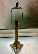 Ancien pied de lampe Art Déco en fer forgé