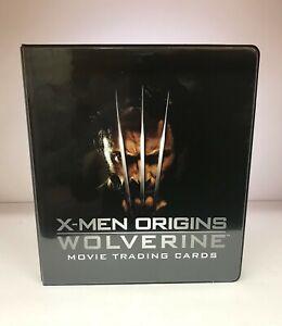 X-Men Origins Wolverine Movie - Trading Card Binder Album & 3 Promo Cards - 2009