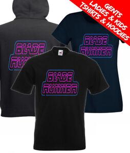 Blade Runner Neon Retro 80s Movie T Shirt / Hoodie