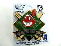 1995 Cleveland Indians American League Champions Baseball Lapel Pin