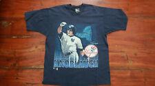 Vintage New York Yankees Chuck Knoblauch t-shirt shirt Adult XL Pro Player