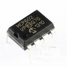 10 PCS MCP602 MCP602-I/P IC OPAMP DUAL SNGL SUPPLY DIP-8 NEW