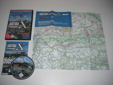 AUSTRIA PROFESSIONAL X Pc DVD Rom Add-On Microsoft Flight Simulator Sim X FSX FS