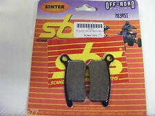 Plaquettes  Frein avant SBS 783 RSI KTM SX 65  2002-09  SX 85  2004-11