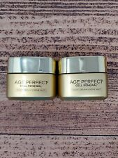 2 L'Oreal Age Perfect Cell Renewal Night Cream Moisturizer 1.7 Oz. Beauty