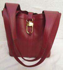 Authentique sac à main DELVAUX  Bruxelles cuir vintage bag *