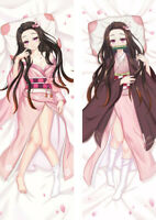 Anime Demon Slayer Dakimakura Kamado Nezuko Hugging Body Pillow Case Cover