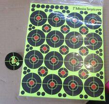 "Splatter Target 2"" & 1""  Shoot rifle pistol reactive air cheap targets N C 1+2"
