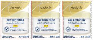 Daylogic Age Perfecting SPF 15 Sunscreen Moisturizer, 2.5 Oz (3 Pack)