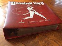 Lot Of 637 Vintage 80's & 90's Baseball Cards /binder,126 20th Anniv Kmart Cards