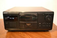 SONY CDP-CX200 200 CD MEGA STORAGE COMPACT DISC PLAYER NO REMOTE