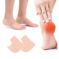 Gel Silicone Foot Pad Soft Support Cushion High Heels Pair Insert Foot Care Sole