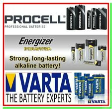BATTERIE PILE PROCELL VARTA ENERGIZER INDUSTRIAL AA AAA 9v 9volt Mini Stilo 123