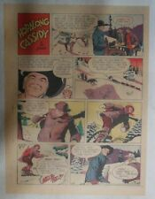 Hopalong Cassidy Sunday Page by Dan Spiegle from 2/22/1953 Size: 11 x 15 inches