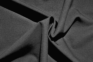 DARK GREY PLAIN WEAVE PURE WOOL SUPER 150's DELUXE TAILORING MADE IN ITALY E2