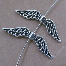 20pc Retro Charms Angel wings Spacer Beads DIY Accessories Jewelry Findings 179H